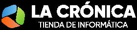 Logo Informatica La Cronica Blanco